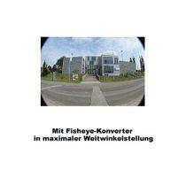 43mm 0.25x Fisheye-Konverter Fisheye-Vorsatz-Linse f. Systemkameras by SIOCORE Bild 4