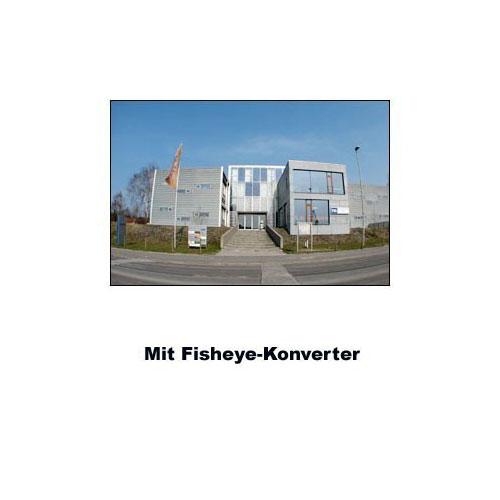 55mm 0.25x Fisheye-Konverter Fisheye-Vorsatz-Linse f. Systemkameras by SIOCORE Bild 3
