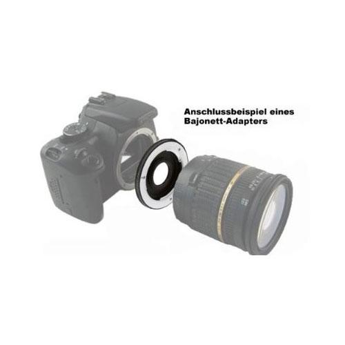 SIOCORE lens adapter T2 Bajonet to Nikon 1 camera Bild 2