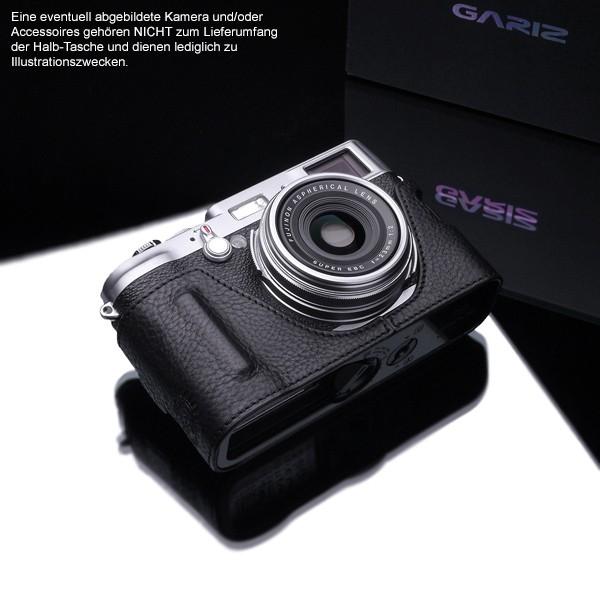 GARIZ BLACK-LABEL leather half case FUJI FinePix X100T X100 X100s / BL-X100BK Bild 2