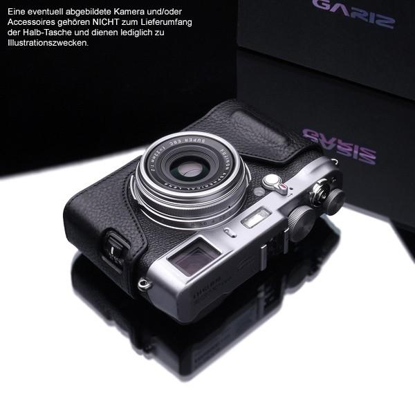 GARIZ BLACK-LABEL leather half case FUJI FinePix X100T X100 X100s / BL-X100BK Bild 3