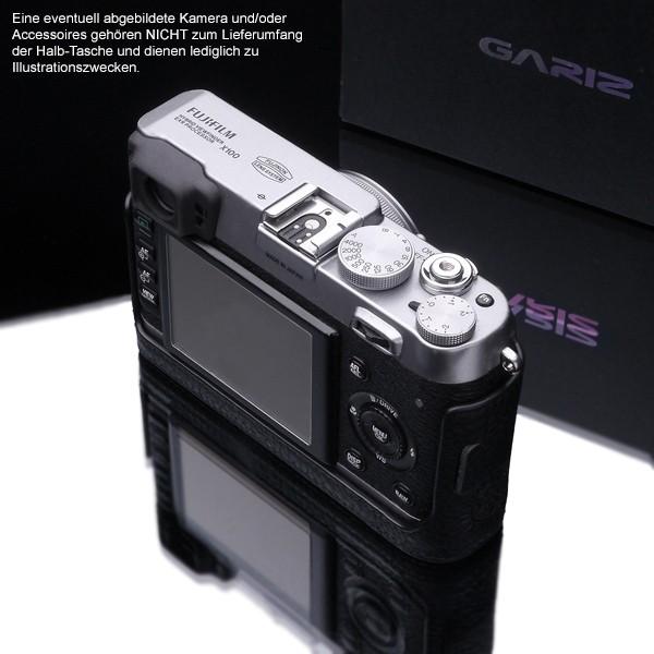 GARIZ BLACK-LABEL leather half case FUJI FinePix X100T X100 X100s / BL-X100BK Bild 6