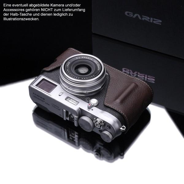 GARIZ BLACK-LABEL Leder Kameratasche FUJI FinePix X100T X100s X100 / BL-X100BR Bild 4