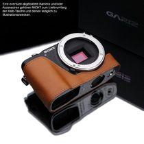 GARIZ real leather designer half case for SONY NEX-3N ( XS-CHNEX3NLB ) Bild 2