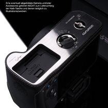 GARIZ real leather designer half case for CANON EOS 100D ( XS-CH100DBK ) Bild 3