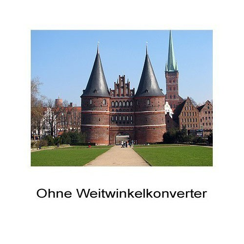 0.6x HD Weitwinkel-Konverter Vorsatz-Linse f. Nikon Coolpix P7800 by SIOCORE Bild 2