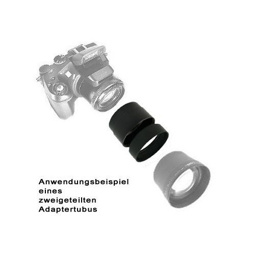 Splitted SIOCORE Filter Adapter Tube for Nikon CoolPix P7800 Bild 2