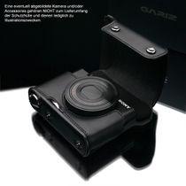 GARIZ Leder Schutzumhüllung f. Sony DSC-RX100 II & M3 Halbtasche XA-CCRX100IIBK2 Bild 4