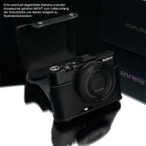 GARIZ real leather protection cover for Sony DSC-RX100 II half case XA-CCRX100IIBK2 Bild 5