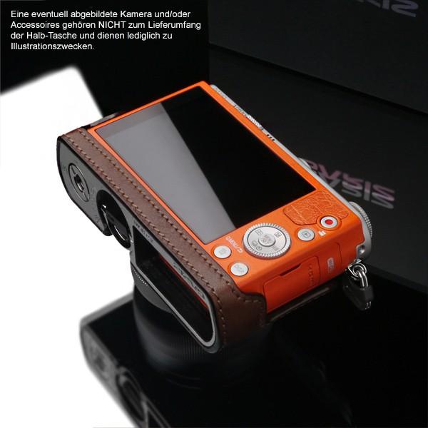 GARIZ Kameratasche Ledertasche Tasche für PANASONIC Lumix DMC-GM1 ( HG-GM1BR ) Bild 5