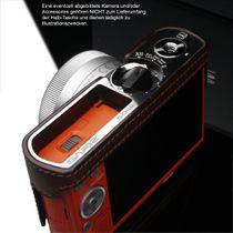 GARIZ real leather designer half case for PANASONIC Lumix DMC-GM1 ( HG-GM1BR ) Bild 4
