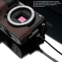 GARIZ Kameratasche Ledertasche Tasche für Sony Alpha A6000 ( XS-CHA6000BR ) Bild 6