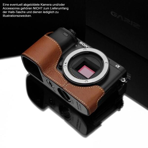 GARIZ Kameratasche Ledertasche Tasche für Sony Alpha A6000 ( XS-CHA6000CM ) Bild 2