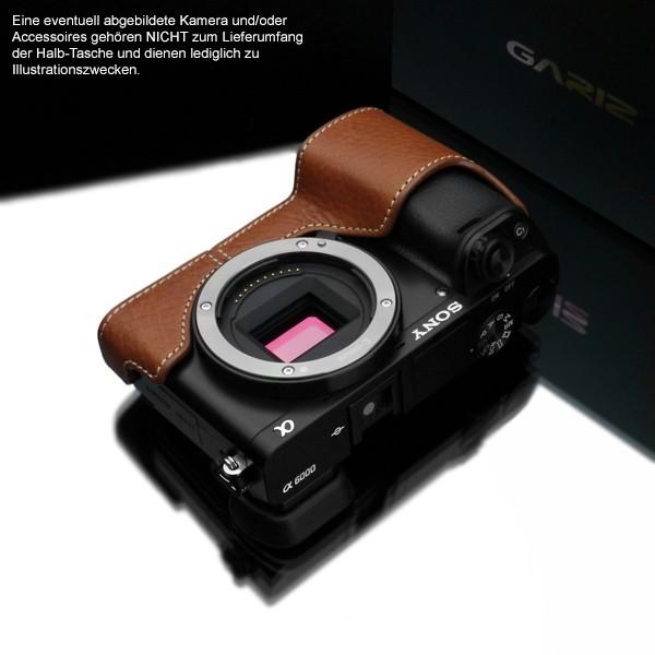 GARIZ Kameratasche Ledertasche Tasche für Sony Alpha A6000 ( XS-CHA6000CM ) Bild 3