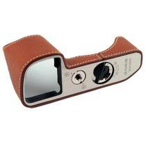 GARIZ real leather designer half case for Sony Alpha A6000 ( XS-CHA6000CM ) Bild 1