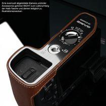 GARIZ Kameratasche Ledertasche Tasche für Sony Alpha A6000 ( XS-CHA6000CM ) Bild 4
