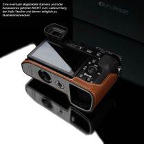 GARIZ real leather designer half case for Sony Alpha A6000 ( XS-CHA6000CM ) Bild 5