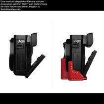 GARIZ real leather designer half case for Sony Alpha A6000 ( XS-CHA6000CM ) Bild 8