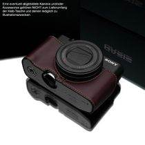 GARIZ real leather half-case for Sony DSC-RX100 Mark III and IV / XS-RX100M3BR Bild 4
