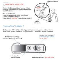 GARIZ Kameratasche Ledertasche Tasche für FUJI FinePix X30 ( XS-CHX30BK ) Bild 8