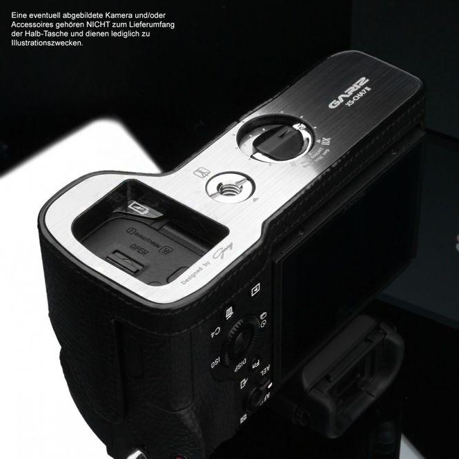 GARIZ Leder Kameratasche für Sony Alpha A7 II A7R II A7S Mark II / XS-CHA7IIBK Bild 6