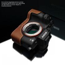 GARIZ Leder Kameratasche für Sony Alpha A7 II A7R II A7S Mark II / XS-CHA7IICM Bild 3