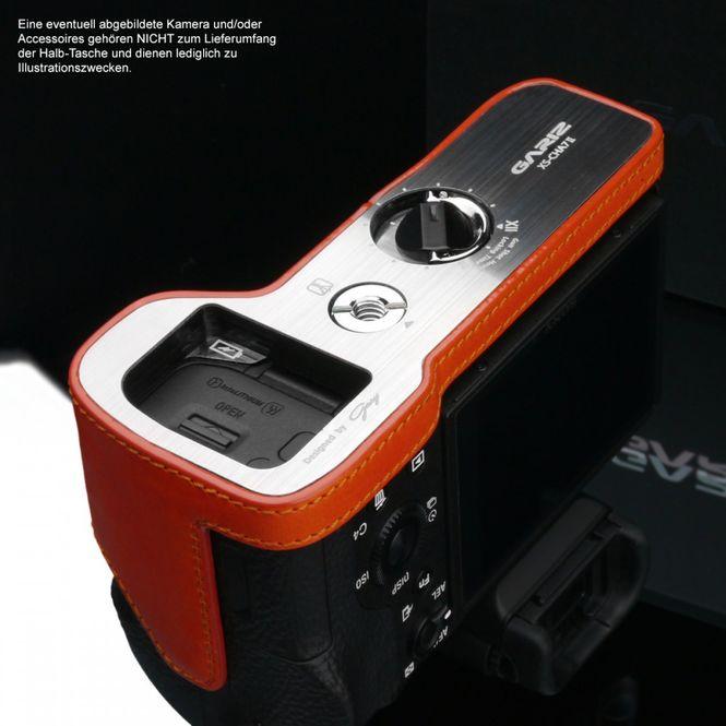 GARIZ Leder Kameratasche für Sony Alpha A7 II A7R II A7S Mark II / XS-CHA7IIOR Bild 6