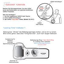GARIZ Leder Kameratasche für Sony Alpha A7 II A7R II A7S Mark II / XS-CHA7IIOR Bild 8