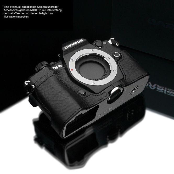 GARIZ Kameratasche Ledertasche Tasche Olympus OM-D E-M5 Mark II / XS-CHEM5IIABK Bild 2