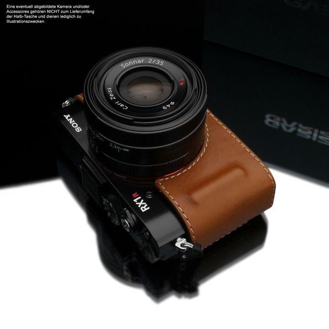 GARIZ Kameratasche Ledertasche Tasche für Sony DSC-RX1R2 RX1R II / HG-RX1R2CM Bild 4