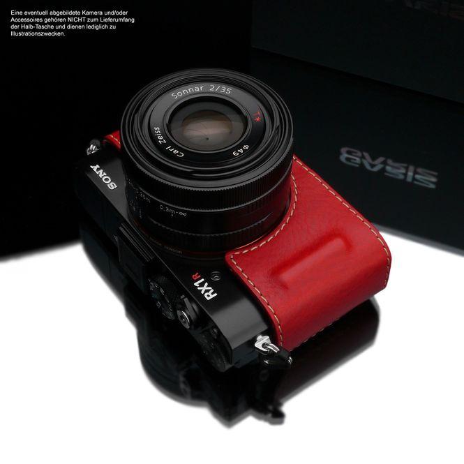 GARIZ Kameratasche Ledertasche Tasche für Sony DSC-RX1R2 RX1R II / HG-RX1R2R Bild 4