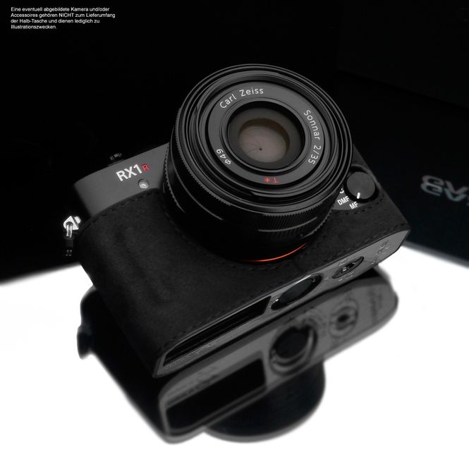 GARIZ Alcantara designer half case for Sony DSC-RX1R2 RX1R II / AT-RX1R2CG Bild 2