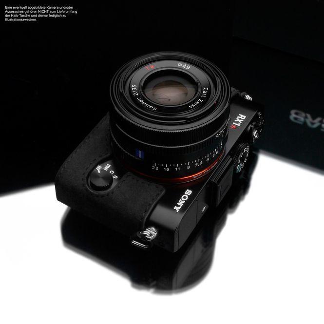 GARIZ Alcantara designer half case for Sony DSC-RX1R2 RX1R II / AT-RX1R2CG Bild 3