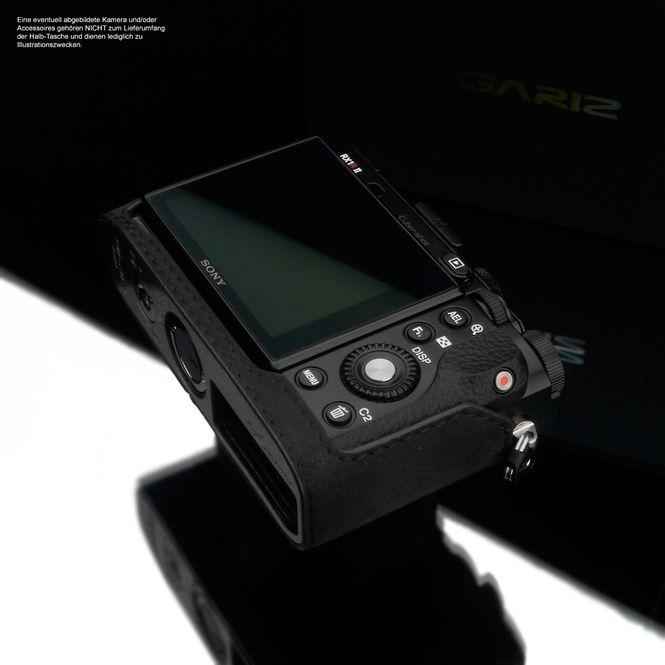 GARIZ Alcantara Kameratasche Fototasche für Sony DSC-RX1R2 RX1R II / AT-RX1R2CG Bild 6