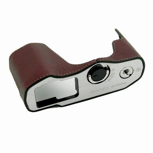 GARIZ Kameratasche Ledertasche Tasche für Olympus E‑M10 Mark II / XS-CHEM10IIBR Bild 1