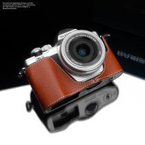 GARIZ real leather designer half case for Olympus E‑M10 Mark II / XS-CHEM10IICH Bild 2