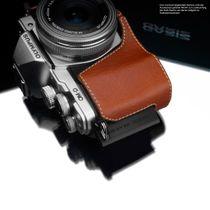 GARIZ real leather designer half case for Olympus E‑M10 Mark II / XS-CHEM10IICH Bild 4