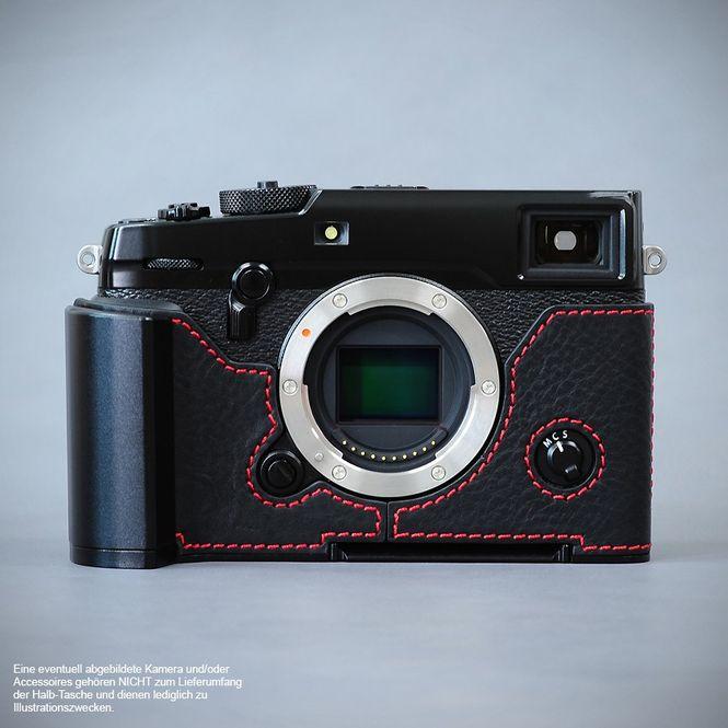 GARIZ real leather designer half case for Fuji FinePix X-Pro2 ( XS-CHXP2BK ) Bild 4