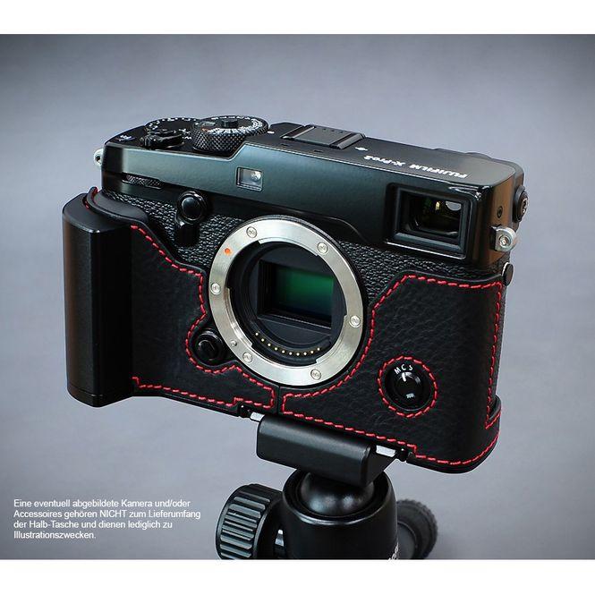 GARIZ real leather designer half case for Fuji FinePix X-Pro2 ( XS-CHXP2BK ) Bild 8