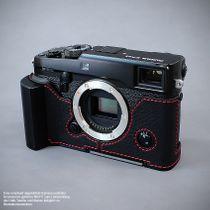 GARIZ real leather designer half case for Fuji FinePix X-Pro2 ( XS-CHXP2BK ) Bild 5