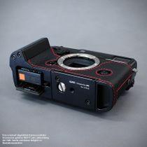 GARIZ real leather designer half case for Fuji FinePix X-Pro2 ( XS-CHXP2BK ) Bild 6