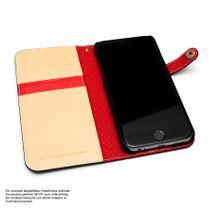 LIM'S Kalbsleder Smartphone-Tasche Handy-Tasche für Apple IPhone 6 6s LE-IP6BDBK Bild 4