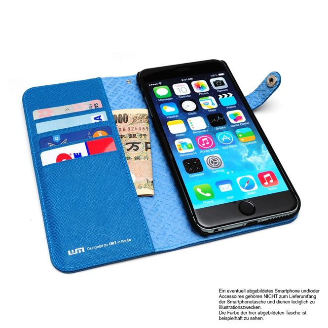 LIM'S Cordura Handy- Smartphone-Tasche für Apple IPhone 6 6s Plus LE-IP6PCDPK Bild 5