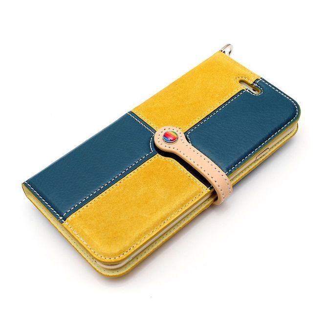 LIM'S Leder Mix Smartphone-Tasche Handy-Tasche für Apple IPhone 6 6s LE-IP6RCBM