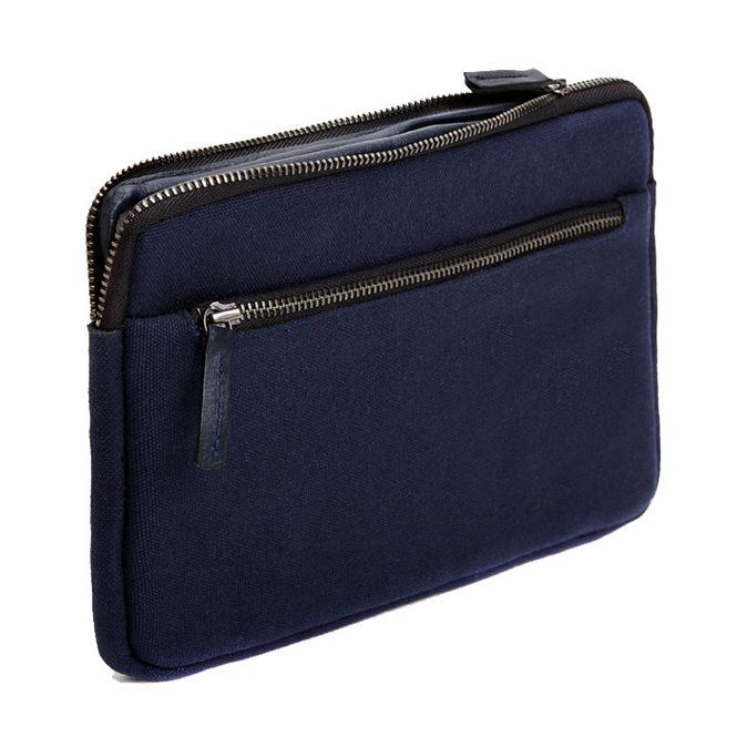 CECILIA Waxed Cotton Hülle Sleeve Case Tasche z.B. für Apple IPad Mini 4 MFD1205