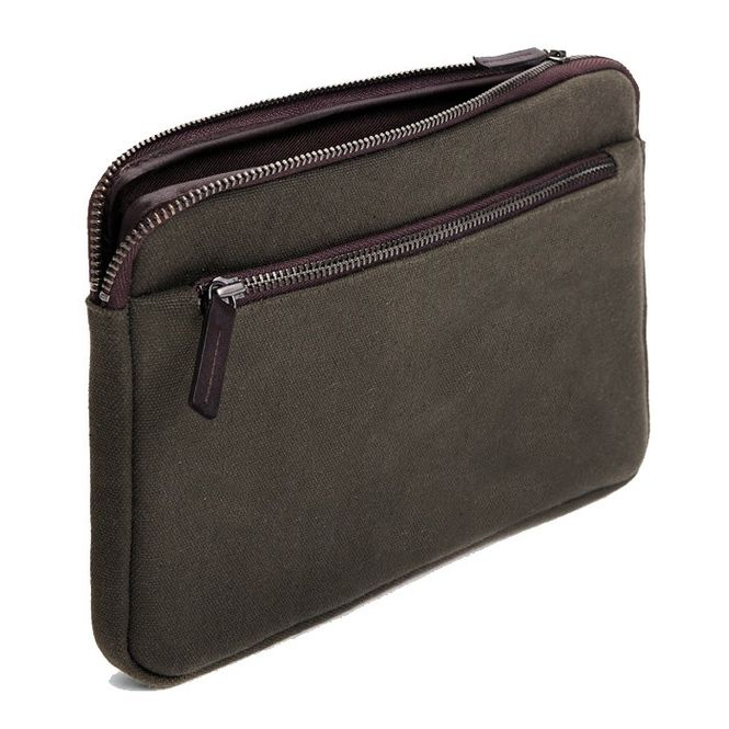 CECILIA Waxed Cotton Hülle Sleeve Case Tasche z.B. für Apple IPad Mini 4 MFD1206