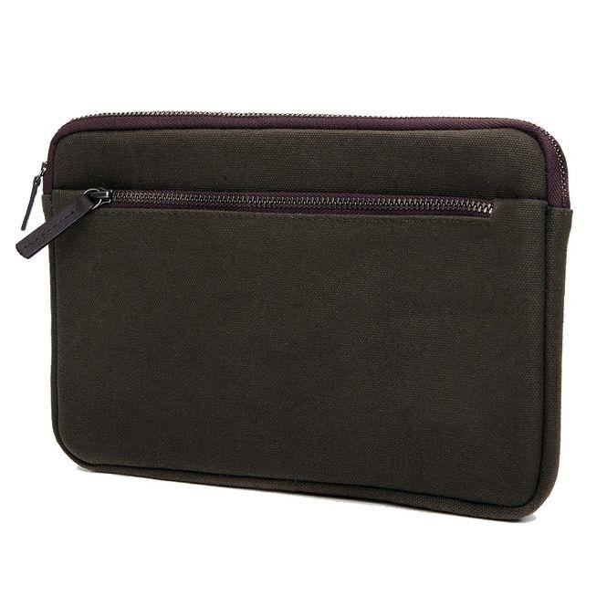 CECILIA Waxed Cotton Hülle Sleeve Case Tasche z.B. für Apple IPad Mini 4 MFD1206 Bild 2