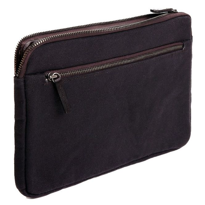 CECILIA Waxed Cotton Hülle Sleeve Case Tasche z.B. für Apple IPad Air 2 MFD1211