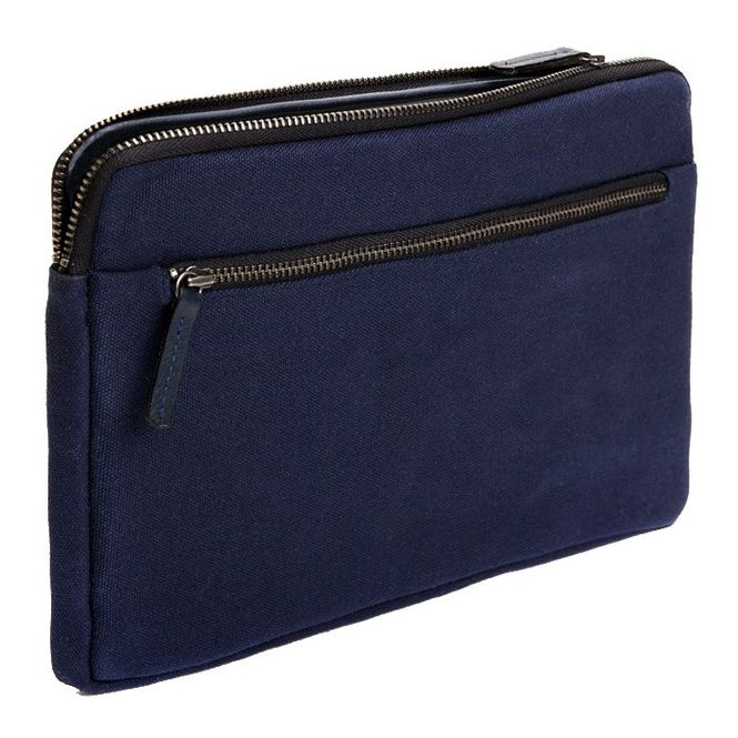 CECILIA Waxed Cotton Hülle Sleeve Case Tasche z.B. für Apple IPad Air 2 MFD1212 Bild 1