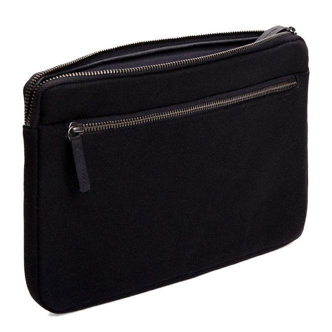 CECILIA Waxed Cotton Laptop Hülle Sleeve Tasche zB für Apple Macbook Air MFD1224 Bild 1